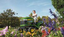 Tracteurs tondeuses de John Deere