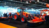 Un tracteur agricole Kubota neuf