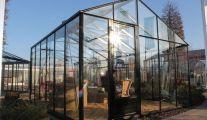 Les serres de jardin chez Jardiland Lange à Gozée