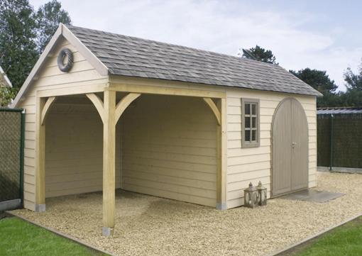 Abri de jardin en bois ou cottage chez mega abris for Cabanes de jardin belgique