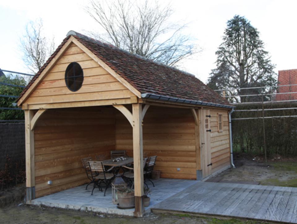 Abri de jardin en bois ou cottage chez mega abris for Abri de jardin en bois la redoute