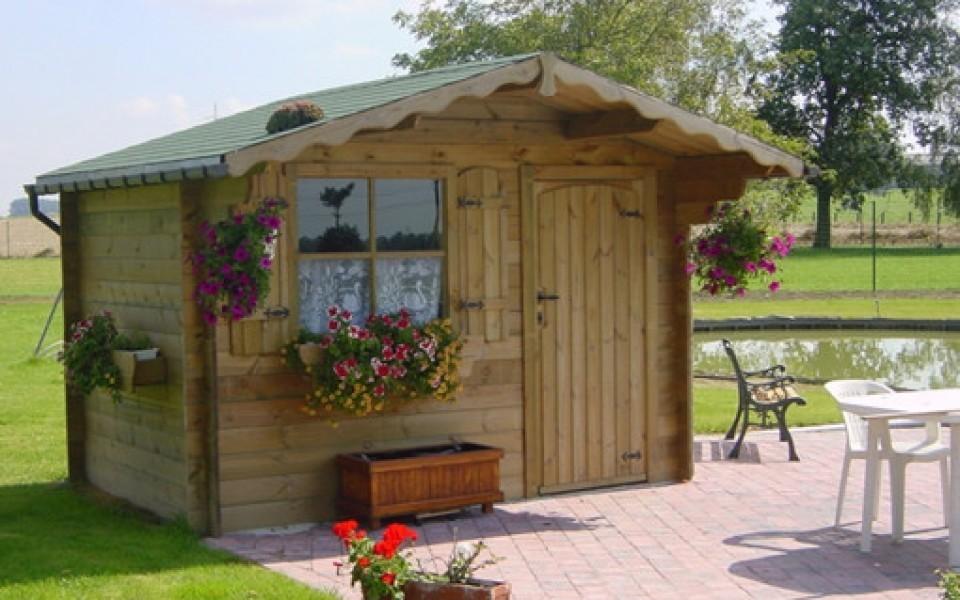 Abri de jardin moderne ou classique par mega abris jardin et decoration amenagement et - Mega jardines de olarizu ...