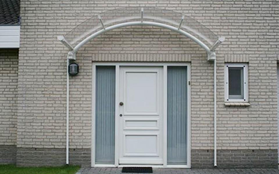 Auvent abri de porte d entr e bruxelles charleroi - Abri pour porte d entree ...