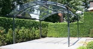 carport aluminium voiture jardin confort