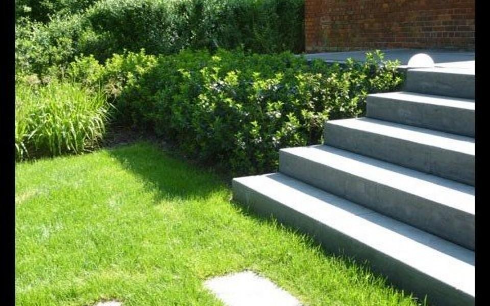 Escalier de jardin laakdal tessenderlo diest hasselt for Jardin 2 niveaux