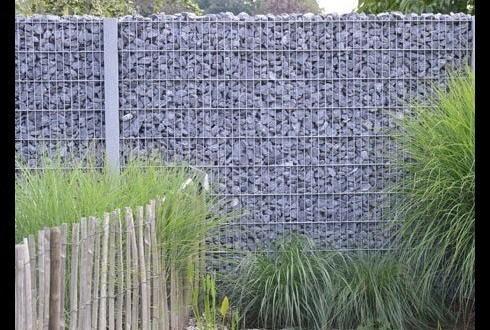 des gabions sur mesure chez e l s garden. Black Bedroom Furniture Sets. Home Design Ideas