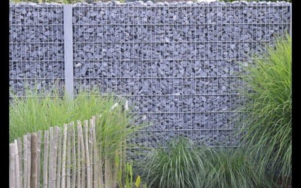 des gabions sur mesure chez e l s garden. Black Bedroom Furniture Sets. Home Design Ideas