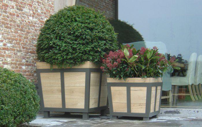 Bacs fleurs uccle poterie jardin belgique for Entretien jardin bruxelles