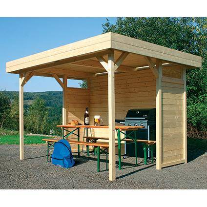 pergola d ext rieur en bois chez brico marche. Black Bedroom Furniture Sets. Home Design Ideas