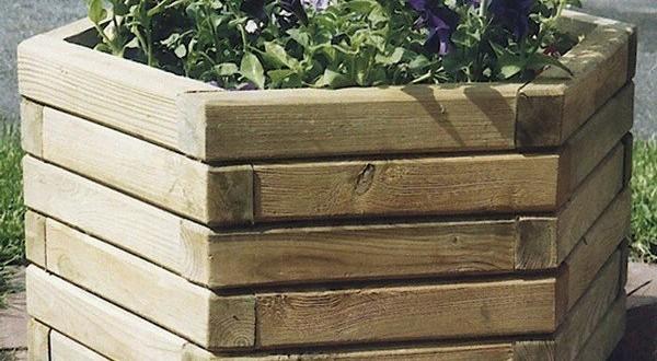 bac fleurs de jardin bac fleurs en bois. Black Bedroom Furniture Sets. Home Design Ideas
