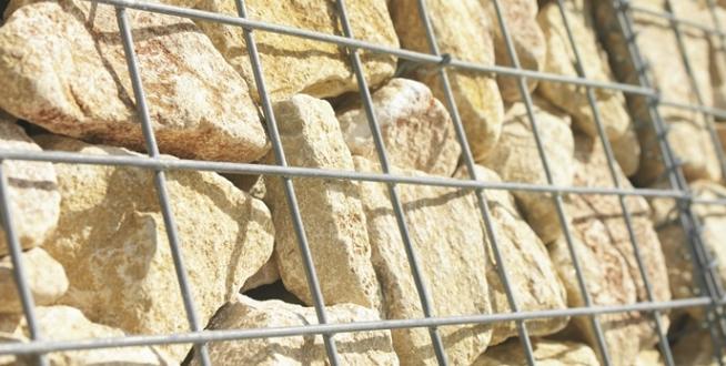 murs en gabions prix