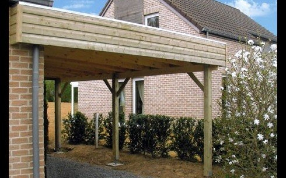carport fait maison finest how to build a pergola step by step diy building a pergola with. Black Bedroom Furniture Sets. Home Design Ideas