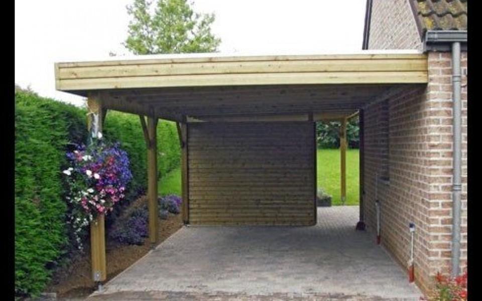 Le carport jumet fleurus nivelles for Decoration jardin jardiland