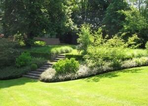 Henrion jardins cl tures portails jardin en bois et alu for Amenagement jardin waterloo