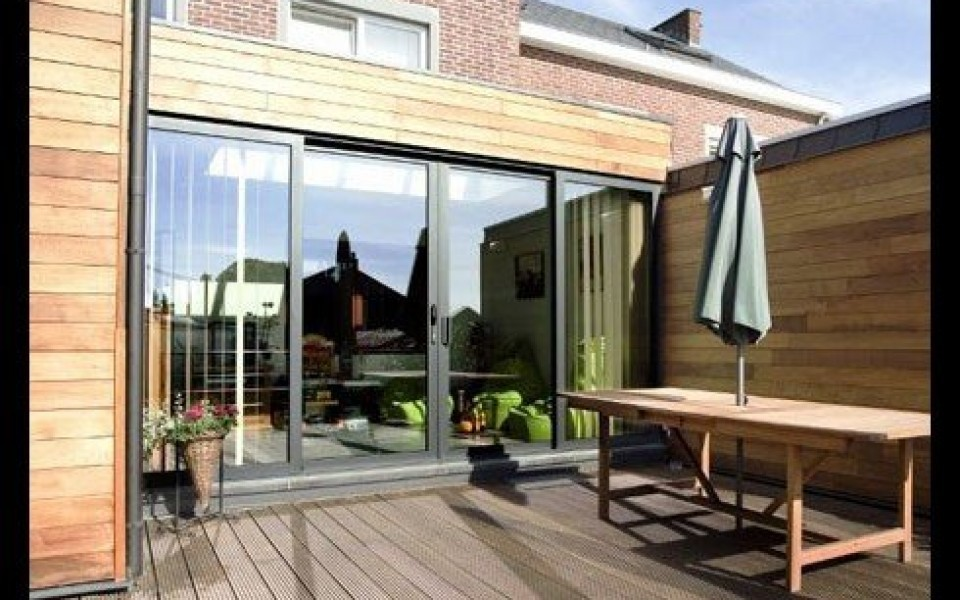 veranda extension maison photos de de maison camlia. Black Bedroom Furniture Sets. Home Design Ideas