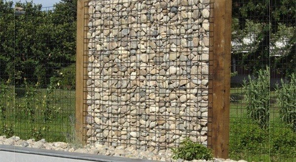 gabions mur en pierre cl tures betafence. Black Bedroom Furniture Sets. Home Design Ideas