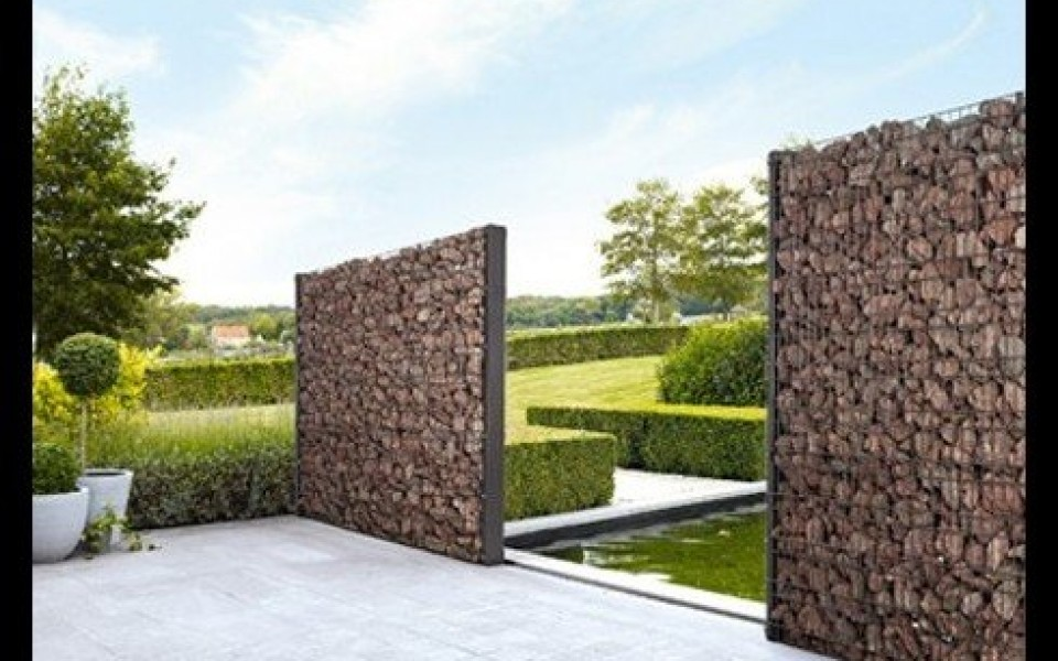 gabions mur en pierre cl tures betafence mur en pierre. Black Bedroom Furniture Sets. Home Design Ideas