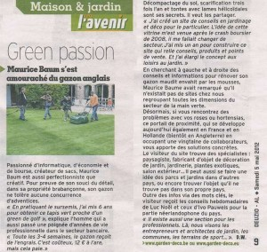 qui sommes nous? jardin decoration conseils en belgique Qui sommes nous? gd Presse 1