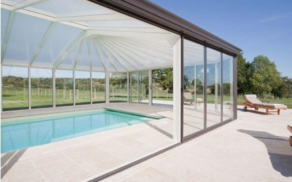 abri de piscine mons jardin et decoration amenagement et entretien belgique. Black Bedroom Furniture Sets. Home Design Ideas