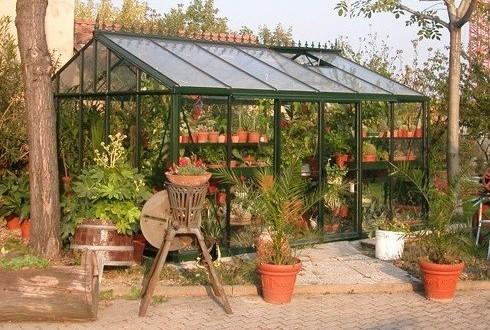 Serre victorienne import garden for Serre de jardin belgique
