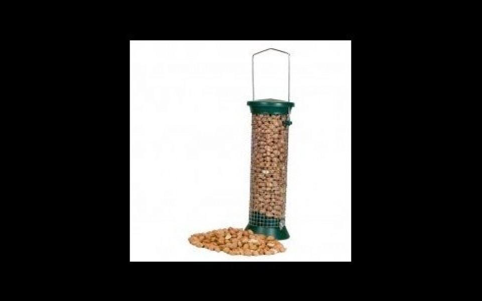 Mangeoire silo pour oiseaux vivara - Faire peur aux oiseaux jardin ...
