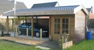 Carport auvents abris de jardin chalets garage et share for Prix entretien jardin