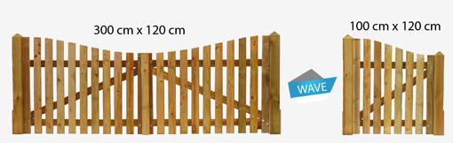 portillons et portails de Jardin en bois