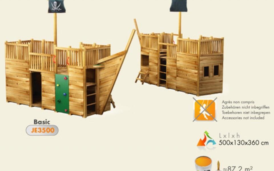 Portique balan oire en bois mur d escalade for Balancoire jardin bois