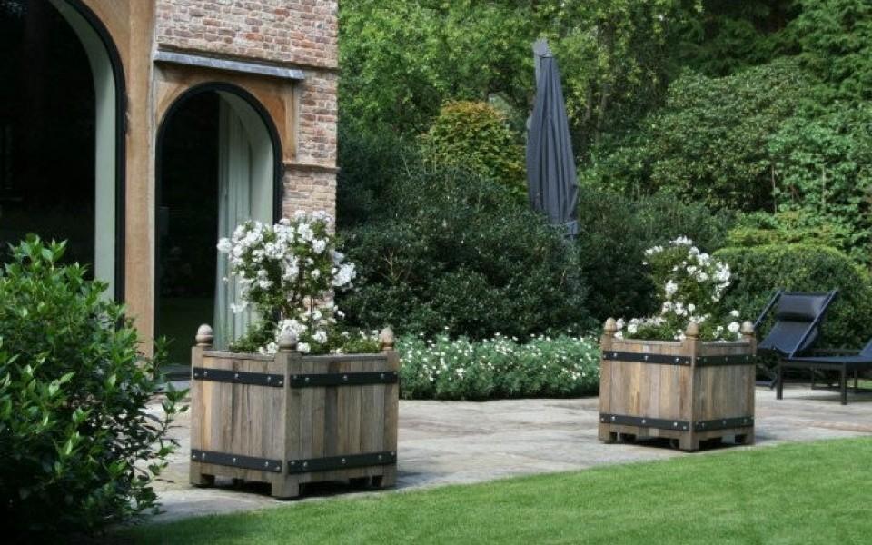Bacs fleurs uccle poterie jardin belgique - Deco jardin bruxelles ...