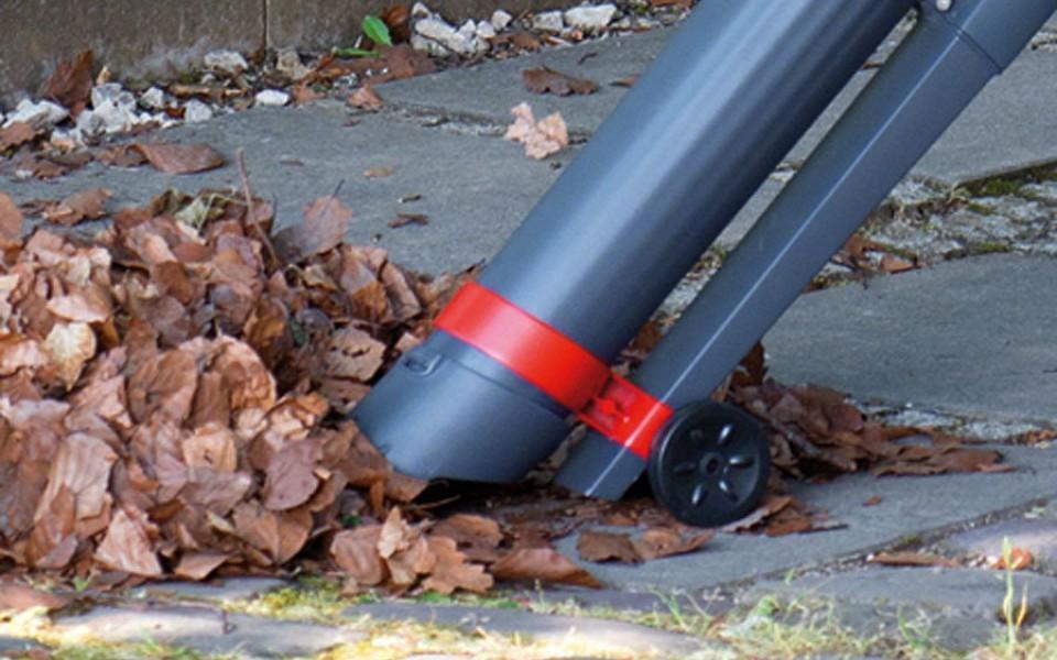 Souffleur aspirateur de feuilles lectrique wolf - Appareil pour ramasser les feuilles ...