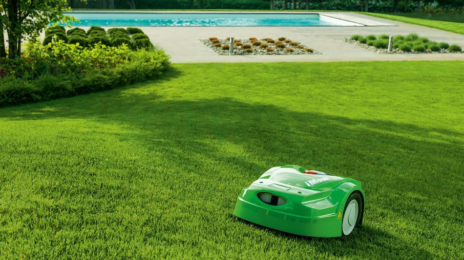 Tondeuse robot waterloo for Entretien jardin waterloo