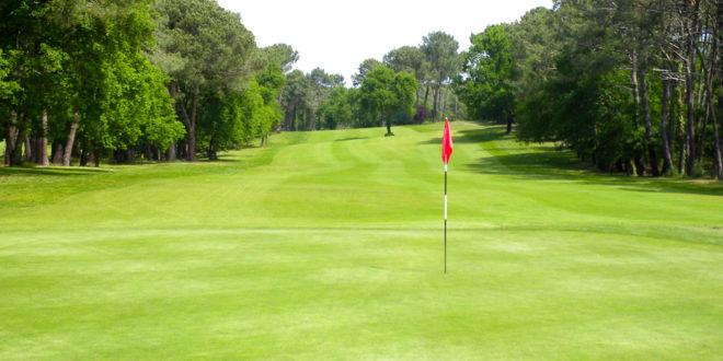 un terrain de golf