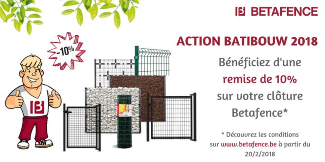 Betafence à Batibouw 2018