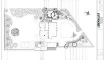 Plan d'aménagement de jardin avec Geralds