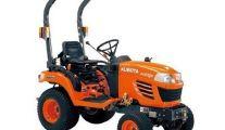 Un tracteur polyvalent Kubota