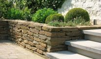 Murs de soutènements et gabions par Henrion Landscapers