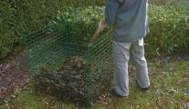 Bac à compost et cage à poule de Betafence