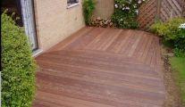 Aménagement de terrasse en bois à Waterloo