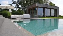 Pool House en Bois Belgique chez Veranclassic