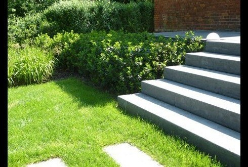Escalier de jardin, Anvers