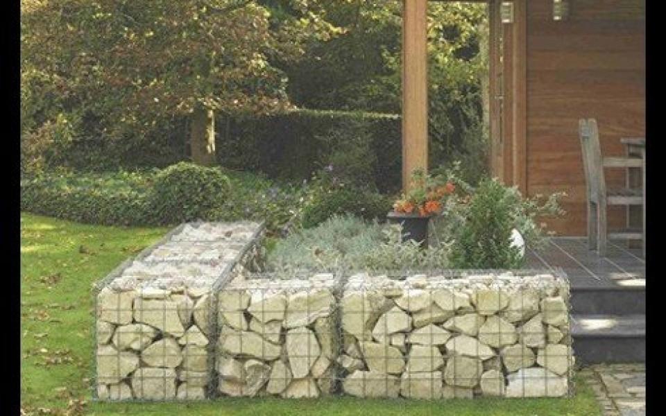 gabions mur en pierre cl tures betafence jardin et decoration amenagement et entretien