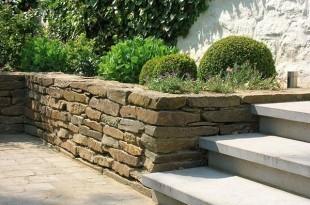 Murs de soutènements et gabions par Henrion Jardins