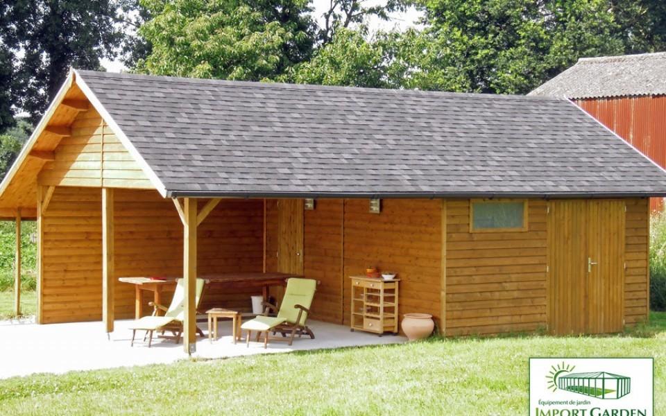 Carport et abris de jardin Cottage Import Garden