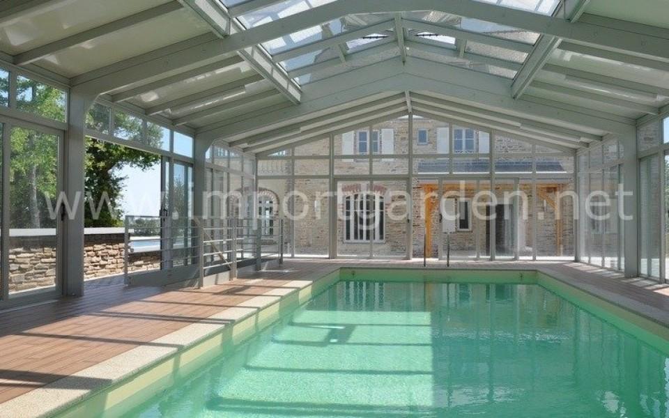 verandas coulissante piscine