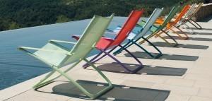 chaise longue de jardin tournai