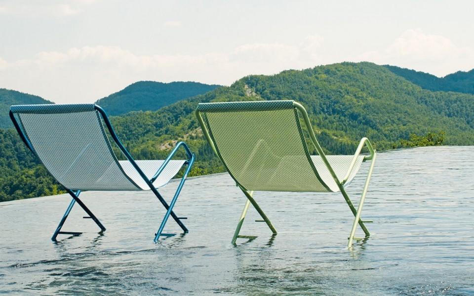 chaises longues transat provence
