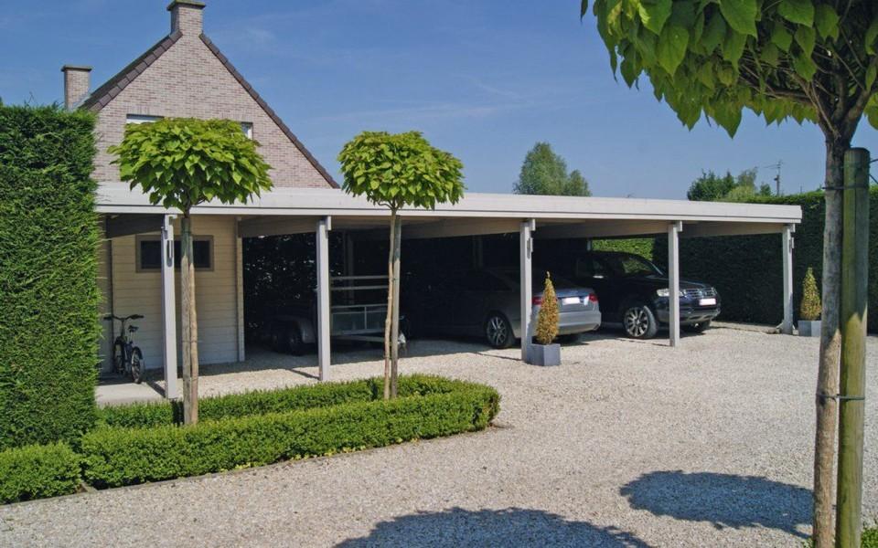 Carport en Bois Belgique