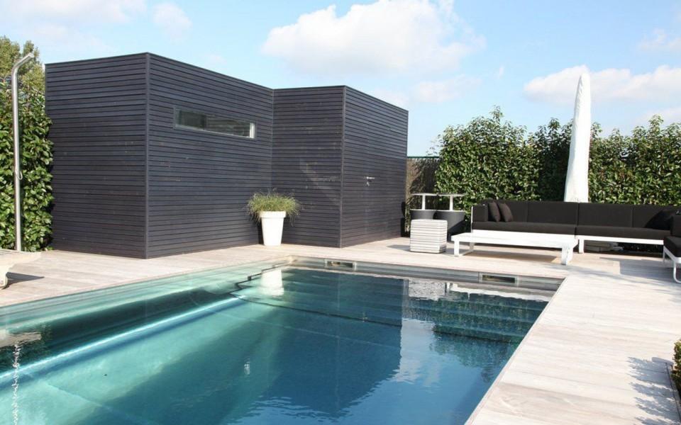 Pool House en Bois Belgique