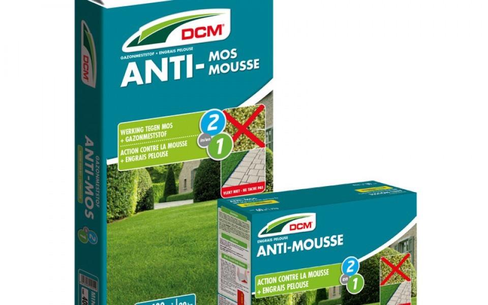 Engrais DCM contre la mousse dans le gazon Jardinerie Anthemis