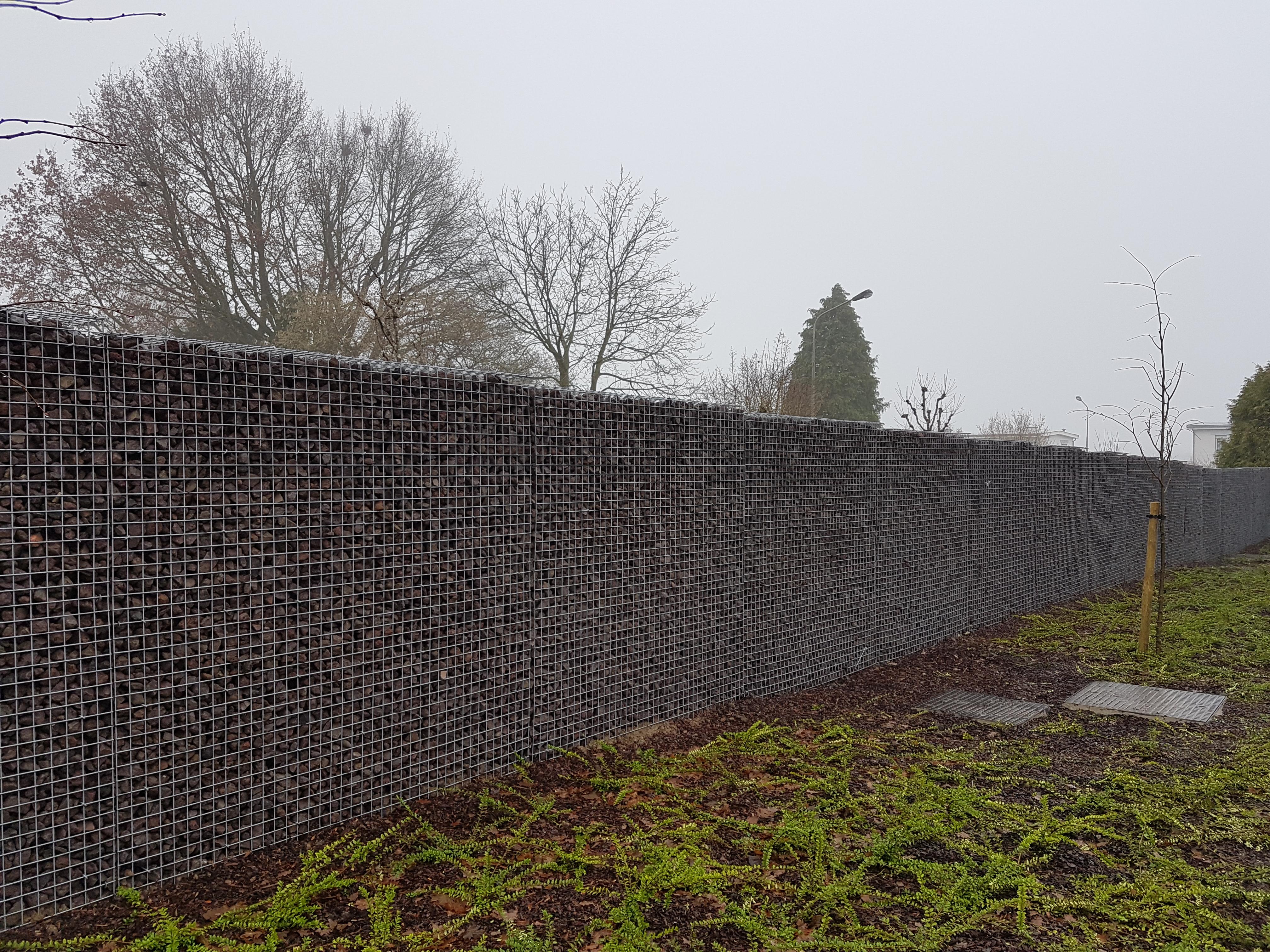 Gabion Stonewall de Betafence – Jardin et Decoration. Amenagement et ...